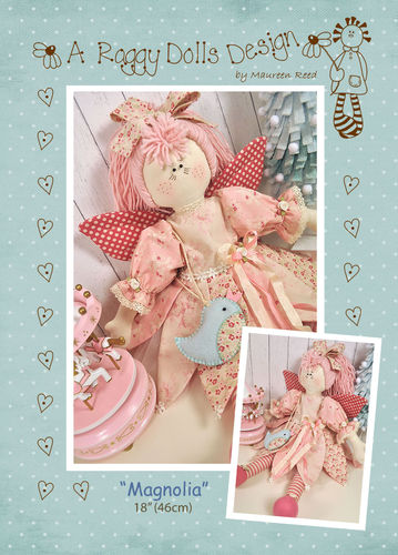 Magnolia Fairy Sewing Pattern - PDF Download