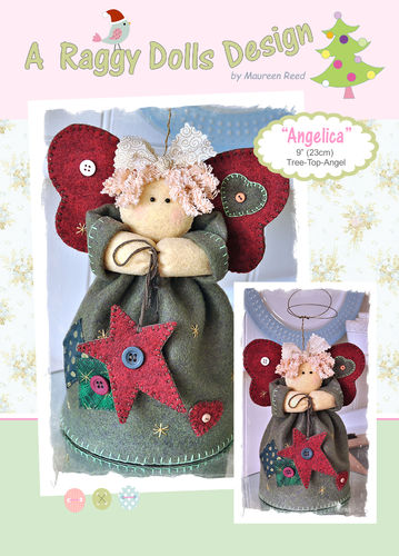 Angelica Angel Sewing Pattern - PDF Download