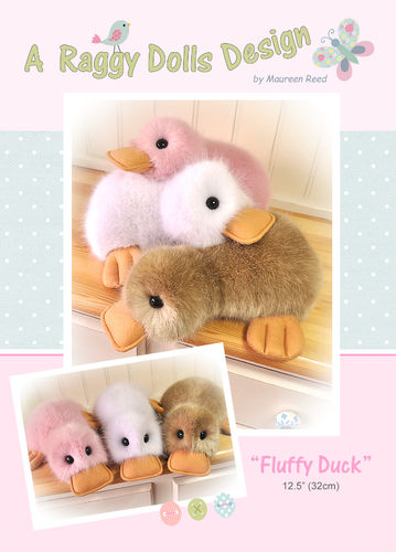 Fluffy Ducks Sewing Pattern - PDF Download