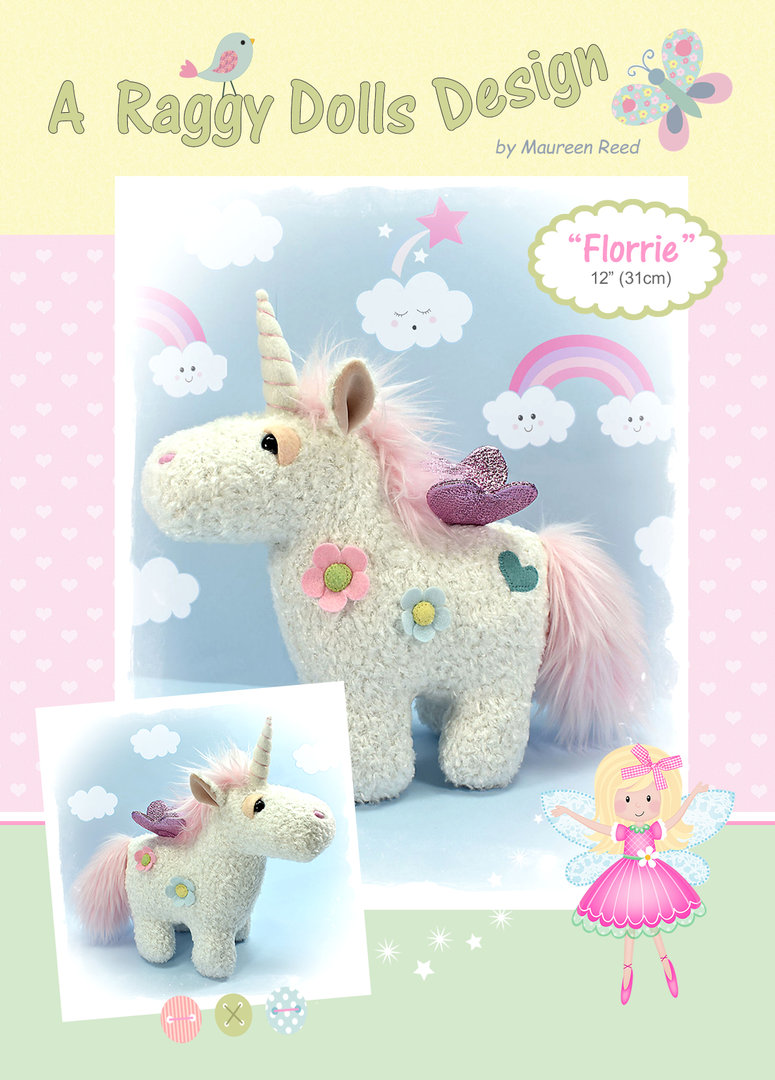 Florrie Unicorn Sewing Pattern
