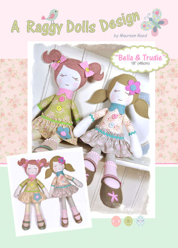 Bella & Trudie Sewing Pattern - PDF Download