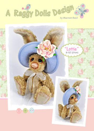 Lottie Hare Sewing Pattern - PDF Download