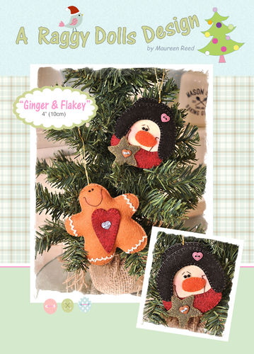Ginger & Flakey Sewing Pattern - PDF Download