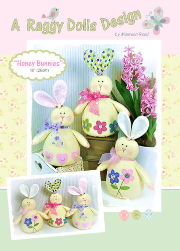 Honey Bunnies Sewing Pattern - PDF Download