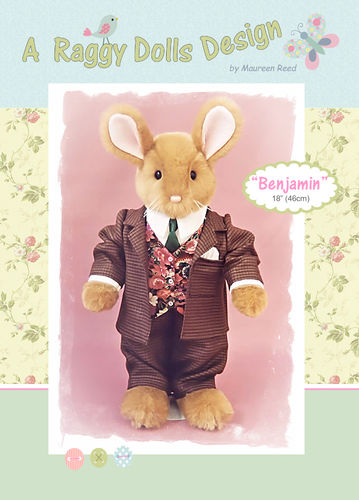 Benjamin Rabbit Sewing Pattern - PDF Download