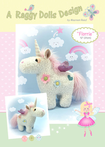 Florrie Unicorn Sewing Pattern - PDF Download